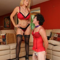 Latest subbyhubby.com update features Charlee Chase fucking her sissy boy