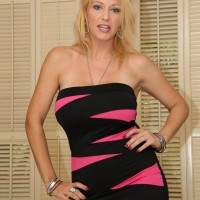 Fully clothed wife Charlee Chase subjects crossdressing sissy to humilation