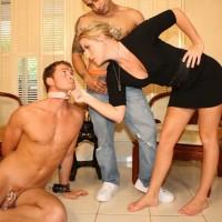 Mistress Ashley Edmunds & a Crossdressing Cuck