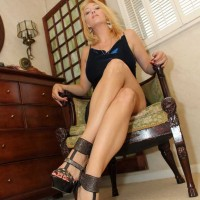 Domme Charlee Chase tending to a Crossdressing Cuckold