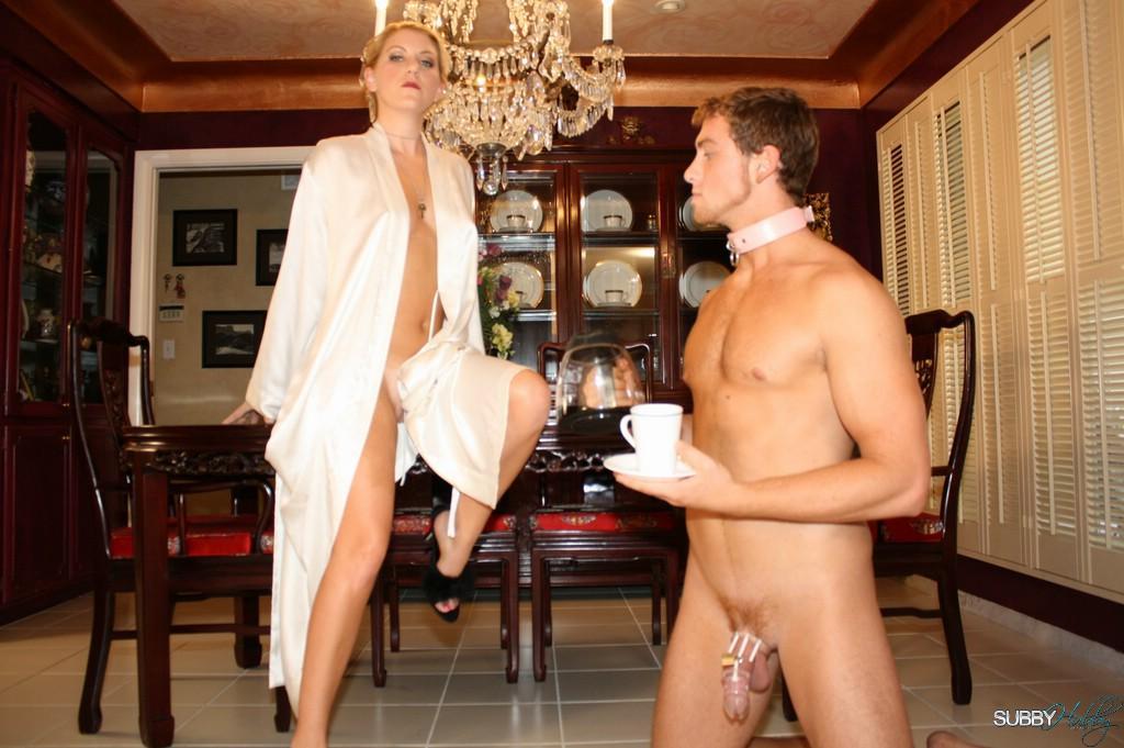 Femdom Wife Serving