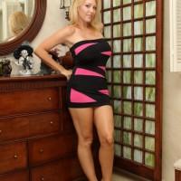 Hot platinum-blonde gf Charlee Chase compels her crossdressing sissy hubby