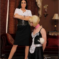 Dominatrax Emmanuelle London and Sissy Boy Maid