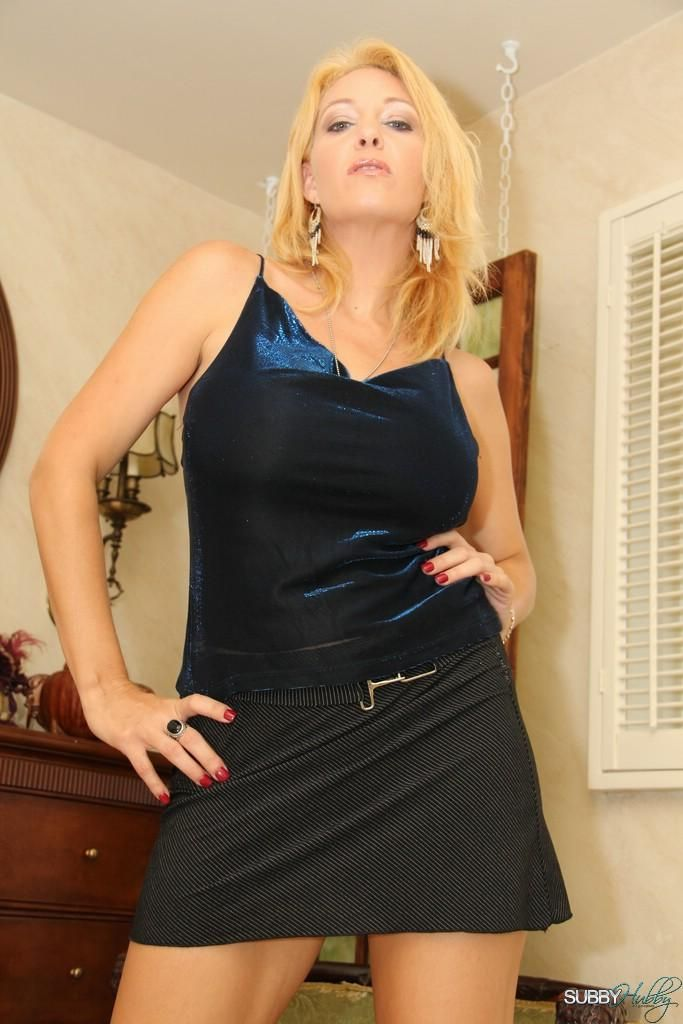 New pics from subbyhubby.com feature hot blonde Charlee Chase and a male sub