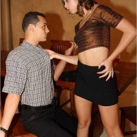 Sultry Dominatrax Riley and her Sissy Boyfriend the Bisexual Cuckold